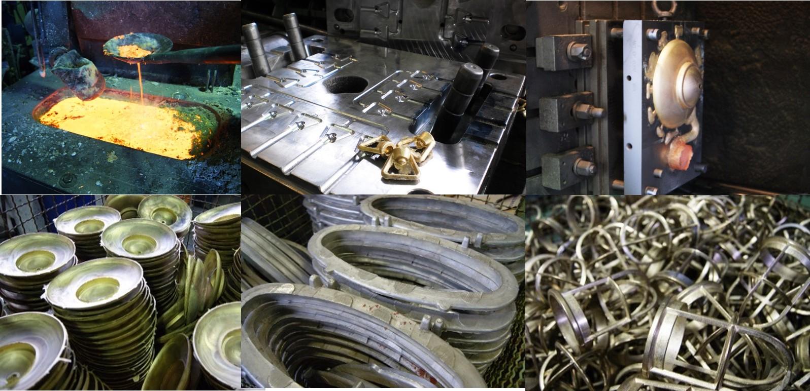 Fonderia ottone, produzione accessori nautici e illuminazione